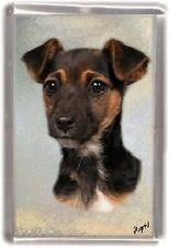 Parson/Jack Russell Fridge Magnet No 6 by Starprint - Auto combined postage
