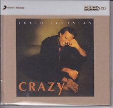 """Julio Iglesias - Crazy"" Sony Japan 100KHz / 24bit K2HD K2 HD CD New Sealed"