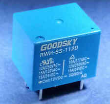 Hi Power Relay 12V DC Coil  15 Amp Contacts SPDT