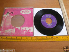 1950's Jeanne and Janie Capitol 45 Record 4368 Vg+ Under Your spell again