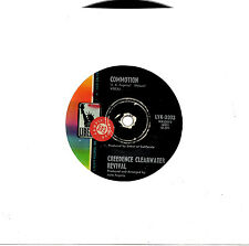 """CREEDENCE CLEARWATER REVIVAL - COMMOTION - PROMO 7"""" 45 RECORD 1969"""