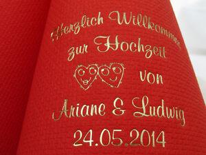 ♥ 100 bedruckte Servietten mit Namen zur/für HOCHZEIT/VERLOBUNG/HOCHZEITSDEKO