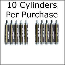10-Count JT 90g CO2 Cylinders Cartridges (Crosman 88g Airsource) 90 88 gram