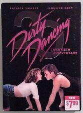 patrick swayze DIRTY DANCING  jennifer grey   DVD NEW twentieth anniversary