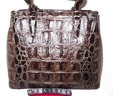 Brahmin Large Joan Espresso Orinoco Tote Genuine Leather Bag New NWT $325