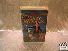 Mary Poppins VHS Large Case Walt Disney Gold Collection