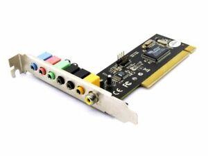VIA PM2VT1723X2A M-350 Audio Controller Board Tremor 7.1 PCI S/Pdif Sound Card