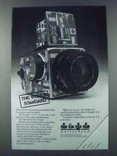 1981 Hasselblad Camera Ad - The World Standard