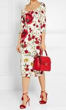 Dolce Gabbana Floral Print Dress UK12 IT44 Authentic