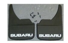 SUBARU UNIVERSAL FIT MUDFLAPS FOR MODELS MUD FLAP IMPREZA FORESTER LEGACY JUSTY