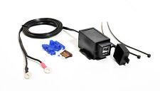 USB 12V Doppel Steckdose für Motorrad USB Ladegerät 2A/1A spritzwassergeschützt