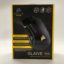 Corsair - Glaive Wired Optical Gaming Mouse with Rgb Lighting - Aluminum