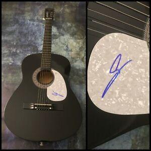 GFA Backstreet Boys Long Road AJ McLEAN Signed Acoustic Guitar A1 COA