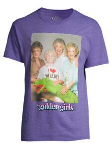 Golden Girls Mens Crocodile Graphic Group Photo Tee Shirt New M, L, XL, 2XL, 3XL