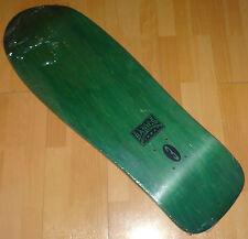 """VISION Basics #3 - '80s Green Skateboard Deck - Old School - NOS - 10.1"""" wide"""