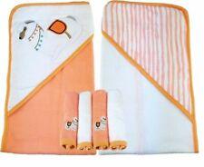Baby Badetuch Kamel 2er Pack und 4er Set Waschlappen