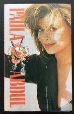 PAULA ABDUL 'FOREVER YOUR GIRL' 1988 Cassette Tape Album