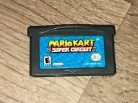 Mario Kart Super Circuit Nintendo Game Boy Advance Battery Saves