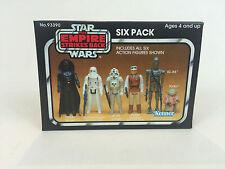Nuevo Star Wars Imperio Contraataca Amarillo 6-Pack Caja Paquete De Seis