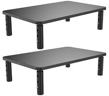2 Pack Monitor Stand for Computer, Laptop Metal Monitor Riser