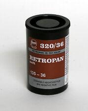 FOMA Retropan 320 Black & White Film 135mm X 17m