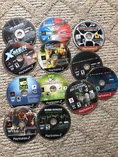 Lot Of 12 PlayStation 2 PS2 Games X-Men Smack Down Raw Marvel God Of War