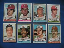 1976 Topps complete your set your pick $1 each MLB Baseball $1 S&H