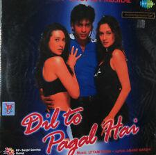 DIL TO PAGAL HAI - Bollywood Soundtrack Vinyl LP  Karisma Kapoor & Shahrukh Khan