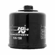 K&N KN138 Racing Oil Filter with Nut fits GSF600 Bandit 95-04 GSF650 05-14