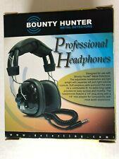 New listing Bounty Hunter Metal Detector Professional Headphones Black Adjustable New