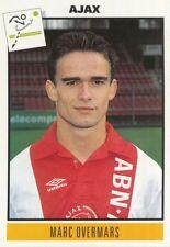 045 MARC OVERMARS # NETHERLANDS AJAX STICKER VOETBAL 1993-1994 PANINI