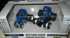1/64 Ertl New Holland T8.435 & Ford 8970 Tractor Set 2018 Farm Show Edition