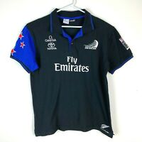 Team New Zealand Americas Cup Team Media Polo Shirt Men's Size XL