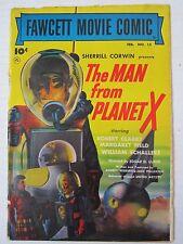 "Fawcett Movie Comic #15 GD- ""Man from Planet X"" -blue label- SCARCE"