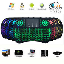 LED Wireless Remote Keyboard Mouse for Samsung LG Smart TV Android Kodi TV Box