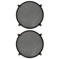 "2 Goldwood Sound SWG-15 Steel Waffle Woofer Grills w/ Hardware for 15"" Speakers"