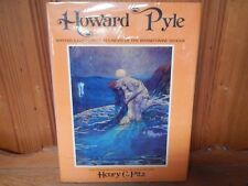 Howard Pyle by Henry C. Pitz w/39 color illus. 1975 VG+++ First Edition Potter