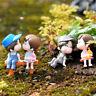 1 Set Cute Lovers Chair Miniature Landscape DIY Ornament Garden Dollhouse Decor