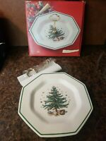 NEW in Box Nikko Christmastime Serving Tray W/ Post Handle Japan Christmas Plate