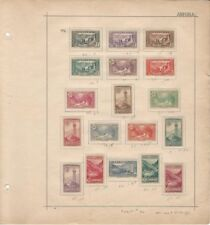 French Andorra Collection 1932 on Album Page, #23//56 Mint