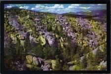 (wak) Postcard: Homestake Pass Montana, Boulders