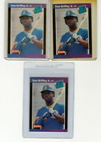 "{Lot 3} 1989 Donruss #33 ""Ken Griffey Jr."" RC Rookie @@LOOK@@  *Mint* {RC Lot 3}"