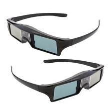 2 piezas de 144Hz Recargable 3D DLP-LINK Gafas Activas para Optoma / BenQ TV