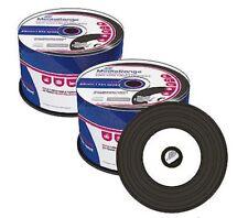 100 Mediarange Black Bottom Vinyl Blank CD CD-R discs Printable 52x 700MB MR226