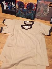 Lot 2 Vintage Stylewise 100% Cotton Ringer Soft Thin T Shirt. Size M, L