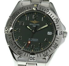 BREITLING Colt Ocean A17035 Green Dial Automatic Men's Watch_566779