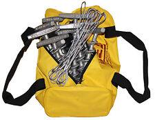 "PE-T9 Penetrator 9""Alumimum Screw Anchor-Set of 12 w/reusable storage bag+Tieoff"