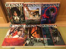 Gunnm Battle Angel Alita 1- 6 Complete Set Japanese comic Yukito Kishiro manga