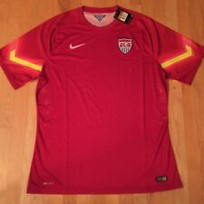 NIKE SOCCER 2014 TEAM USA AUTHENTIC DRI-FIT-MENS XXL JERSEY PLAYER ISSUED-NWT