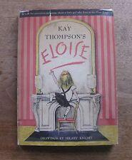 ELOISE by Kay Thompson - 1st/5th - HCDJ 1955 - $2.95 - children's -Hilary Knight